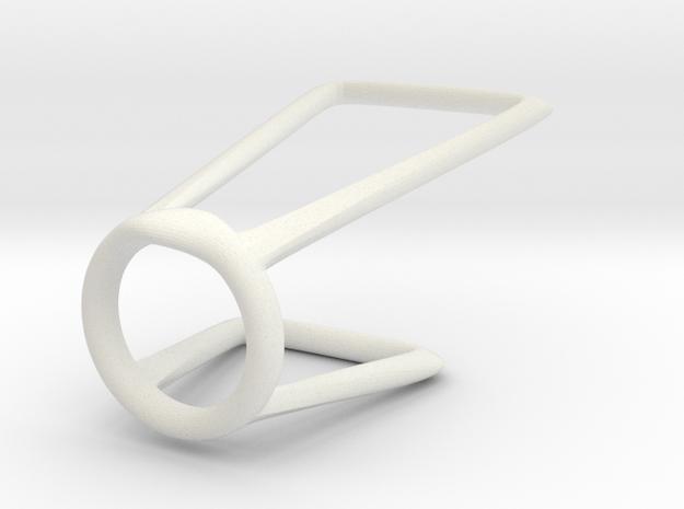 ring 2 for Medan in White Natural Versatile Plastic
