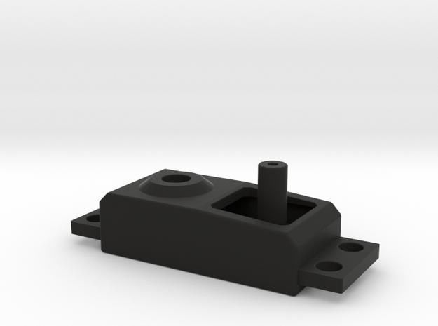 Dummy Servo V2 in Black Natural Versatile Plastic