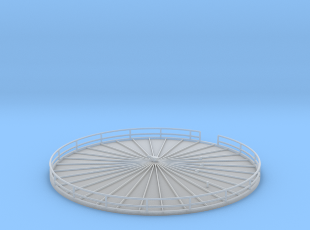 'N Scale' - Fermentation Top - 3.5 in - diameter in Smooth Fine Detail Plastic