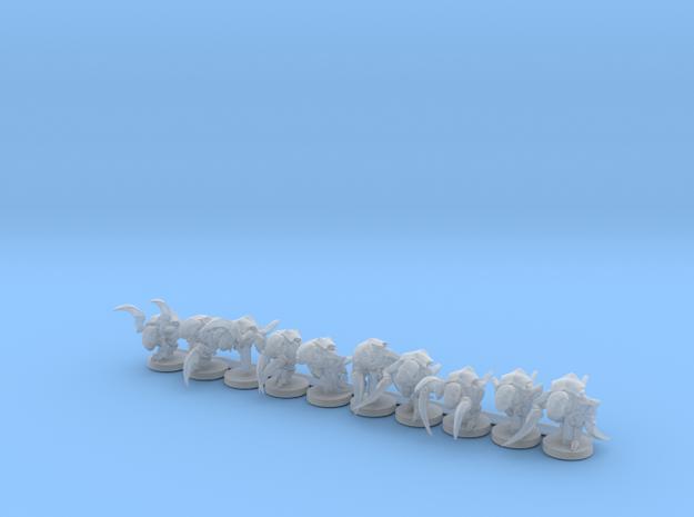 Alien Bug Claw Swarm 10 Models