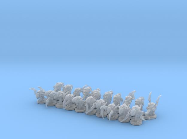 Alien Bug Claw Swarm 20 Models