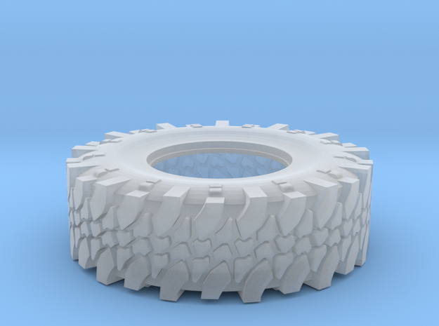 Hummer Tire  for Meng hummer in Smooth Fine Detail Plastic