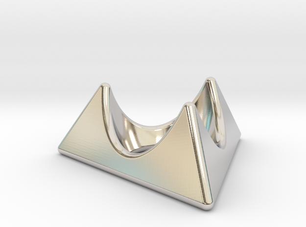 Fabergé egg cup holder in Platinum