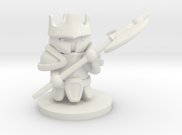 Heavy Knight in White Strong & Flexible