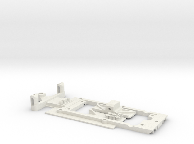 Scalextric Brabham BT49  (F1) in White Strong & Flexible