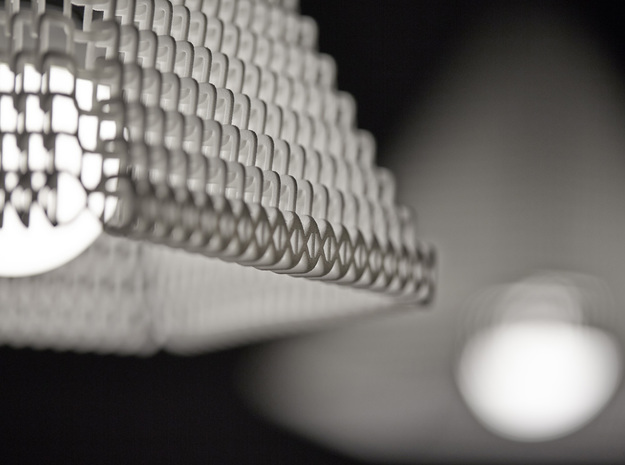 ZooM lampshade M - 19 rows 3d printed