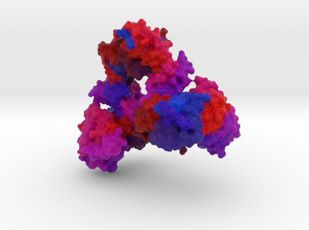 Aspartate Carbamoyltransferase in Full Color Sandstone