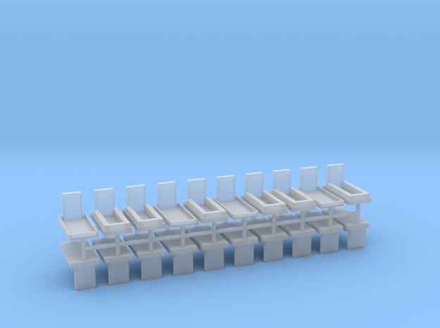 Gräber Set5 20erSet - 1:76 in Smooth Fine Detail Plastic