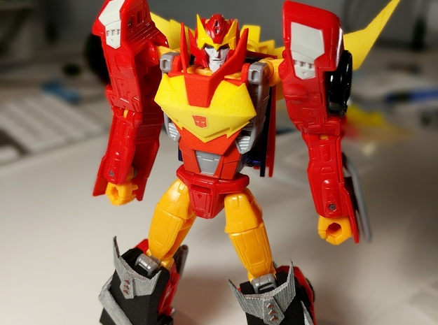 MTMTE Rodimus chest (Part 1 of 2)