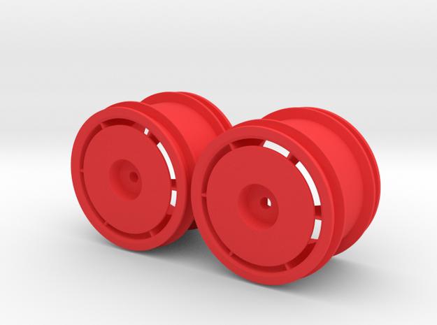 Marui Ninja Rear Rims in Red Strong & Flexible Polished