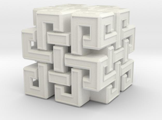 Eternal Knot cube 25mm