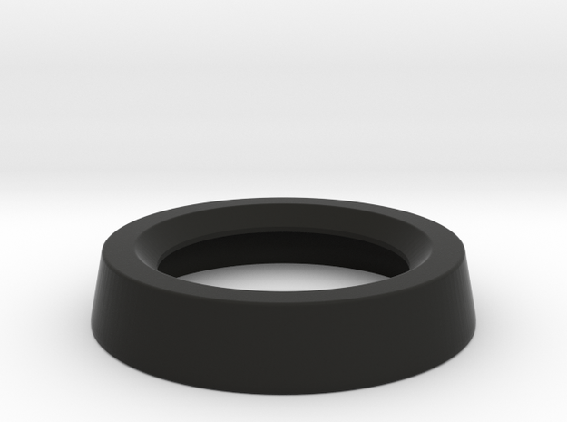 visoScope Lens Ring in Black Natural Versatile Plastic