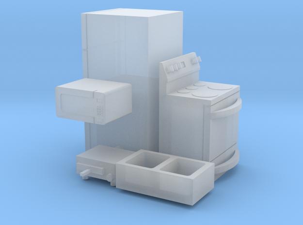 1/64 scale Kitchen Accessories in Smooth Fine Detail Plastic