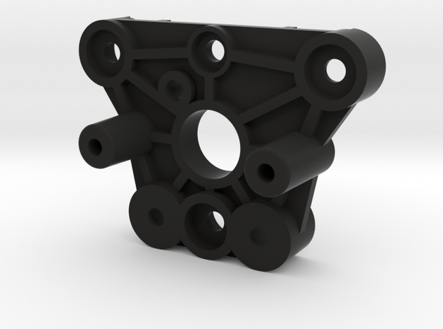 Tamiya RC Front Bulkhead for Vintage Wild Willy (P in Black Natural Versatile Plastic