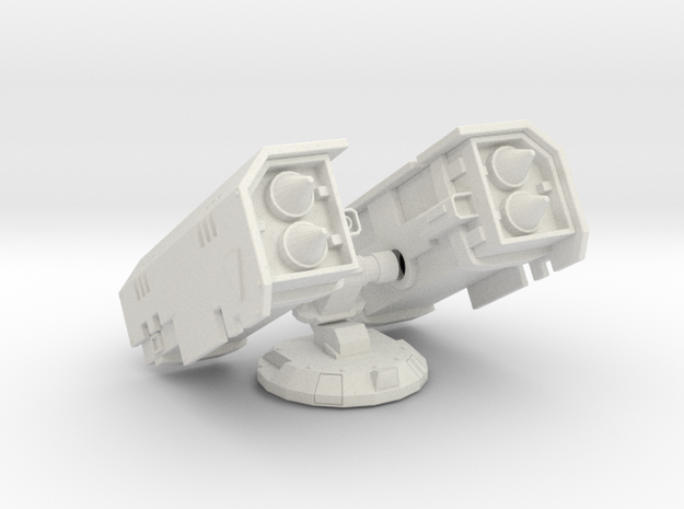Whirlstorm Rocket Turret in White Natural Versatile Plastic