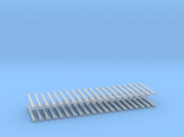 Saugschlauchsatz A 2,5m 10erSet - 1:120 TT in Smooth Fine Detail Plastic