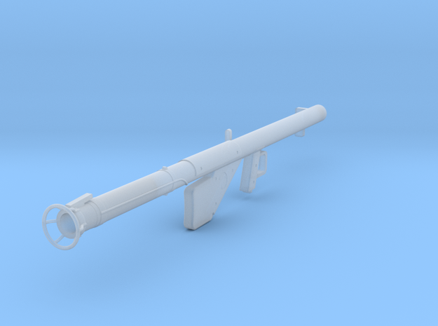 Bazooka M1A1 in Smooth Fine Detail Plastic: 1:18