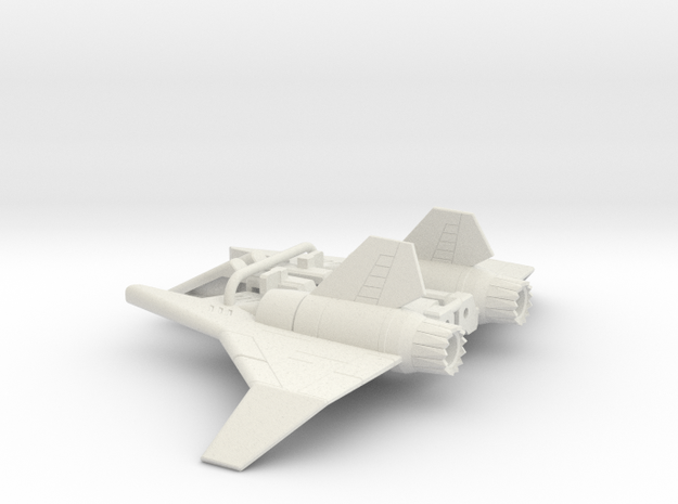 Ramjet wings for CW Air Raid in White Natural Versatile Plastic