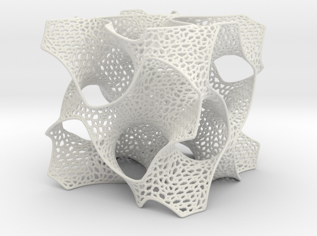 Schoen's Gyroid with Organic Mesh