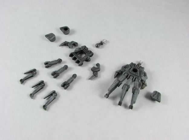ROTF Leader Starscream poseable hands 3d printed Unassembled.
