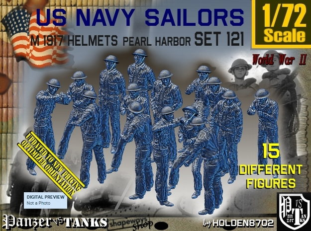 1/72 USN Pearl Harbor Set 121 in Frosted Ultra Detail