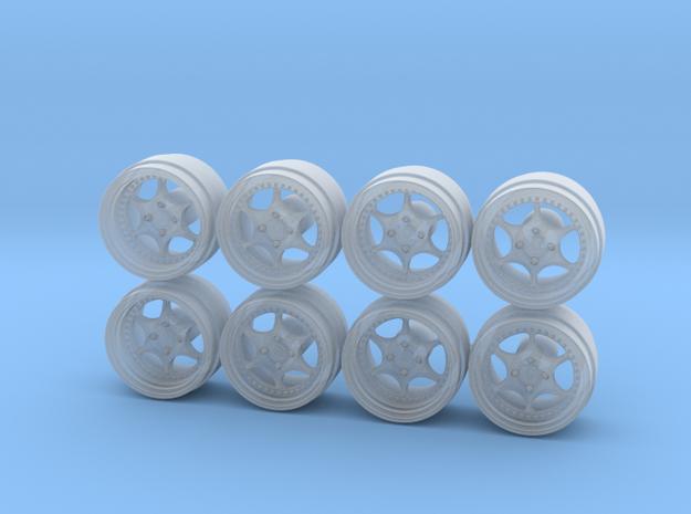 Enkei BBR Comp Hot Wheels Rims in Smoothest Fine Detail Plastic