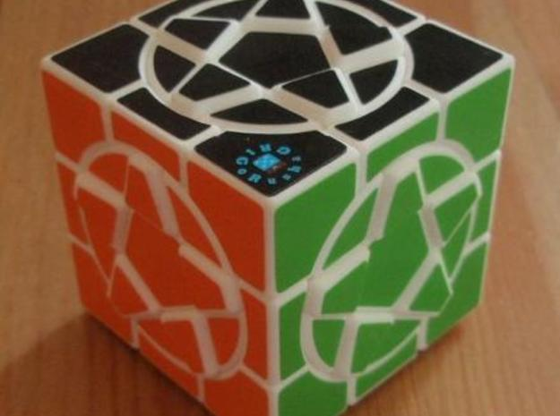 Star Cube I in White Strong & Flexible