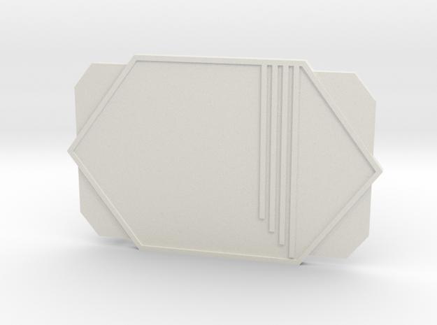 The Shootist in White Premium Versatile Plastic