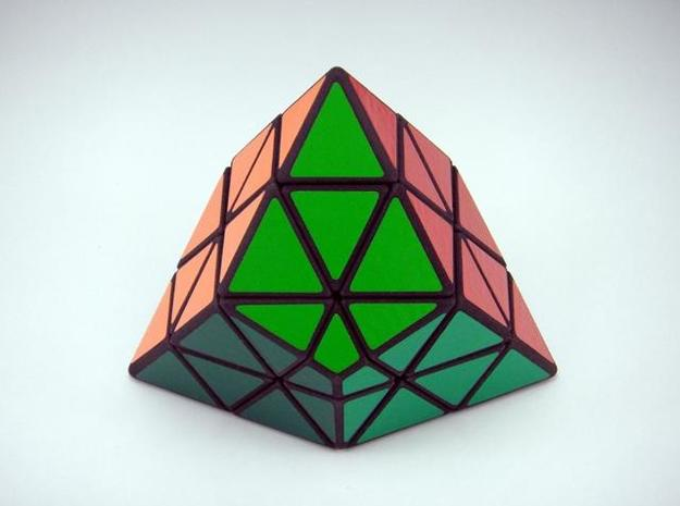 Ice-9 Puzzle 3d printed Solved
