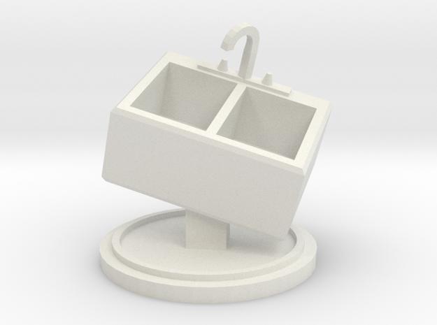 Kitchen Sink Light Object in White Natural Versatile Plastic