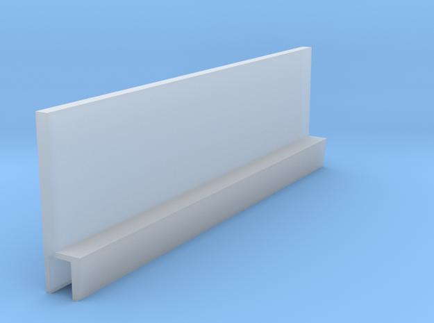 Profil 50mm Waggon-Sitzbank einfach hoch FUD/FED 1 in Smooth Fine Detail Plastic