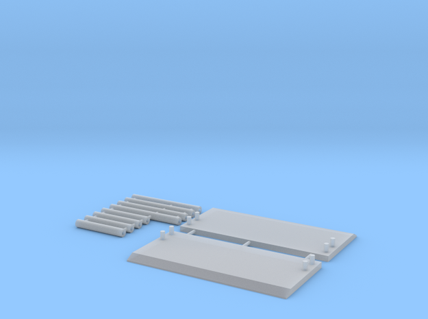 1:87 scale Trench Box