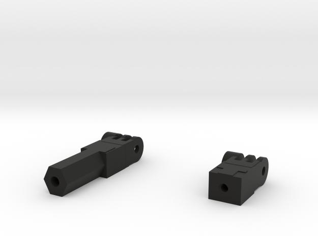GoPro-Fusion-Tripod-Mount-1_4-20-screw-thread in Black Strong & Flexible