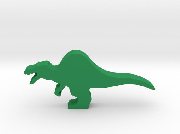 Dino Meeple, Spinosaurus in Green Processed Versatile Plastic