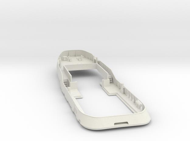 Main Deck & Bullwark 1/50 V56 fits Harbor Tug in White Natural Versatile Plastic