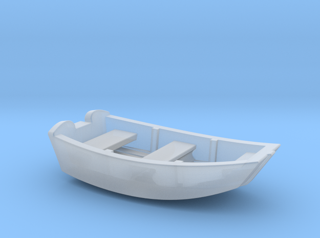 Dinghy Boat HO Scale in Frosted Ultra Detail