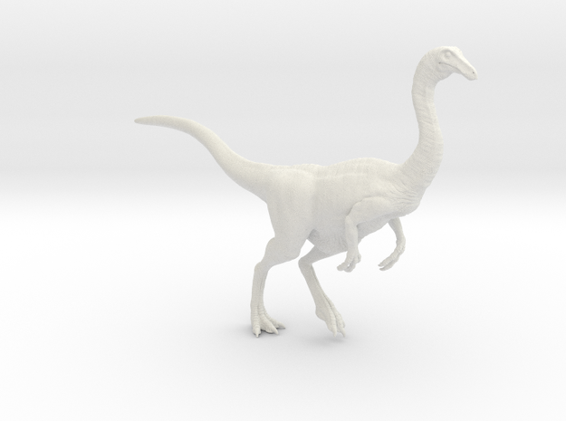 Gallimimus Pose 01 1/20 in White Natural Versatile Plastic