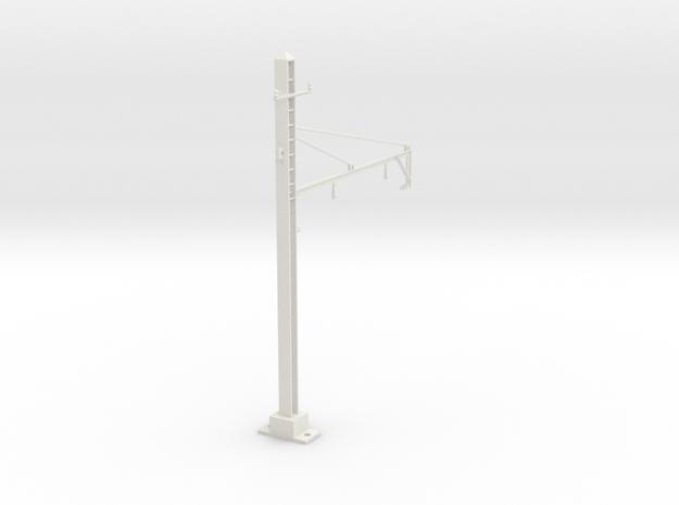 PRR 2T BRACKET 2 STEADY in White Natural Versatile Plastic