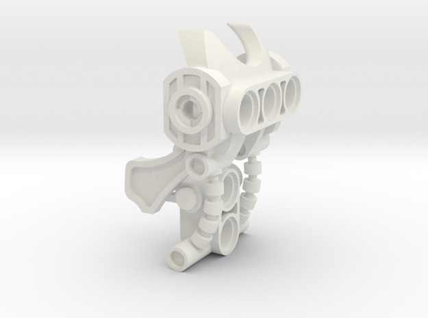 Voluka Armor 3 in White Natural Versatile Plastic