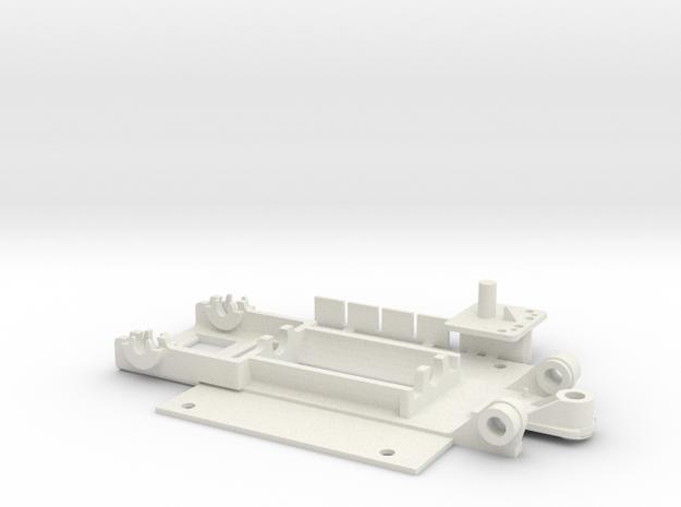 Merc C9 type 1 DF in White Natural Versatile Plastic
