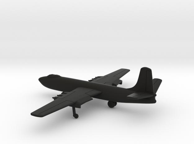 Martin XB-48 in Black Natural Versatile Plastic: 1:400
