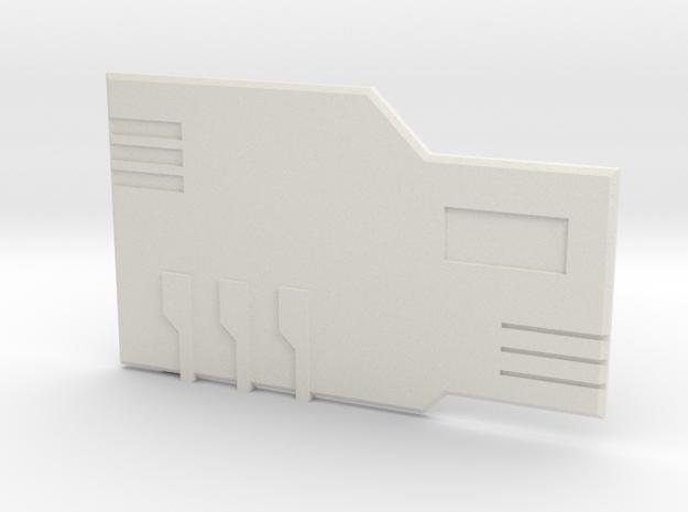 The Chipset in White Premium Versatile Plastic