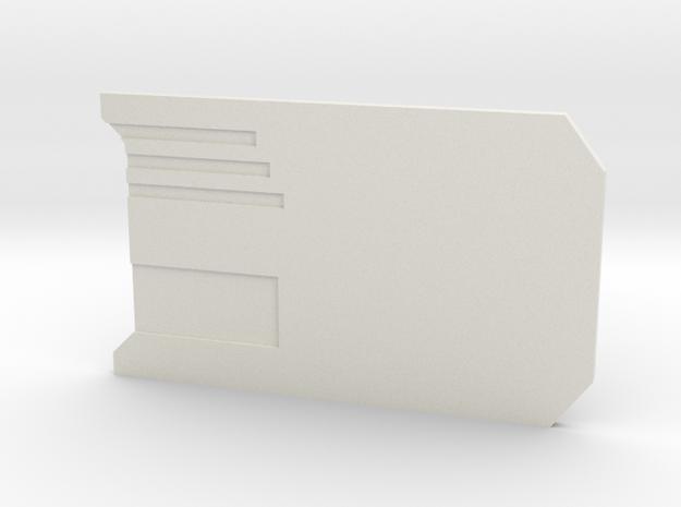 The Data Card in White Premium Versatile Plastic