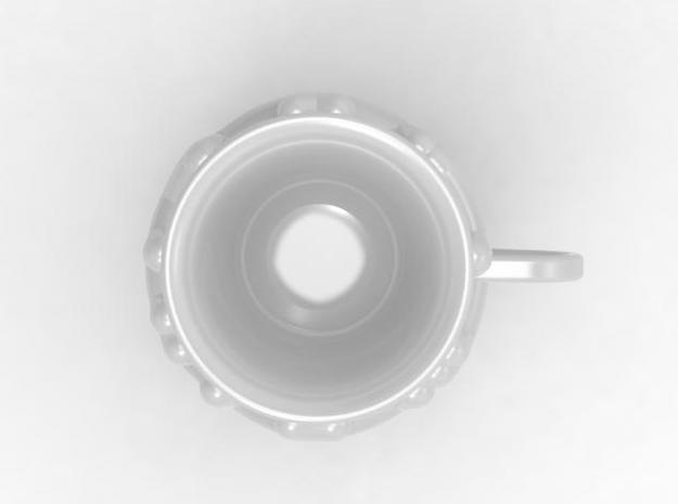 one cup a day | Day 04: Bird Nest Cup 3d printed top view