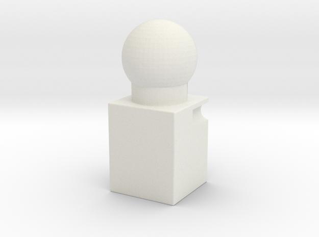 TR Head-block Replacement in White Natural Versatile Plastic