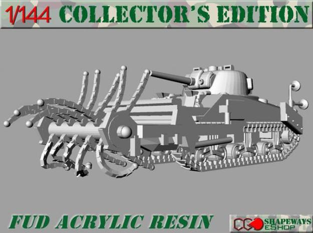 1:144 Sherman Crab II sweeping mode in Smooth Fine Detail Plastic