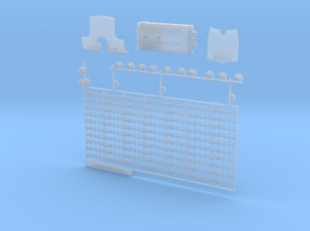 Pistenbully-Umbausatz komplett in Smooth Fine Detail Plastic