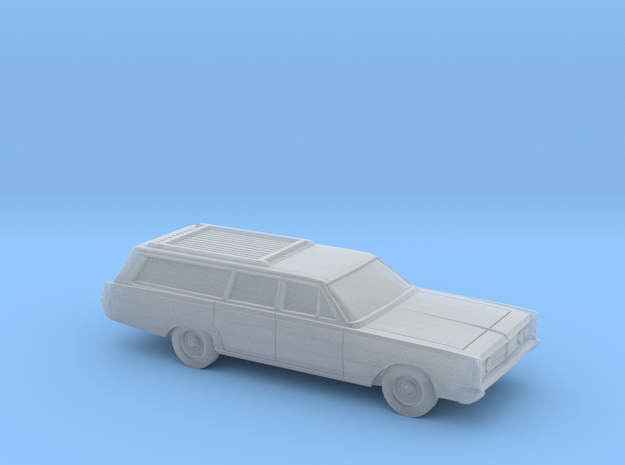1/220 1966 Mercury Monterey Station Wagon in Smooth Fine Detail Plastic