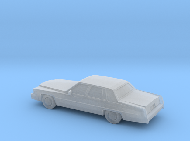 1/220 1977 Cadillac Fleetwood Brougham in Smooth Fine Detail Plastic