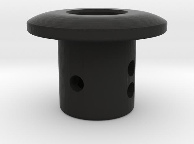 TC Adjustable Body Mount (5mm) in Black Natural Versatile Plastic